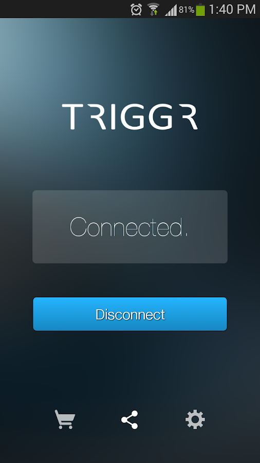 TRIGGR - screenshot