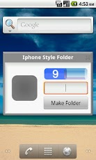 iPhone Style Folder 1.8 android apk