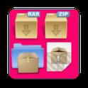 Rar Zip Tar 7Zip icon