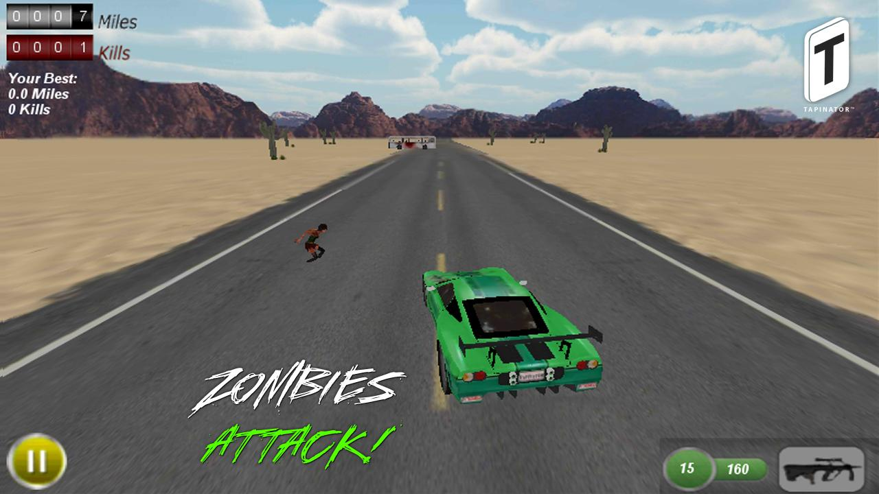 Drive with Zombies Pro - screenshot