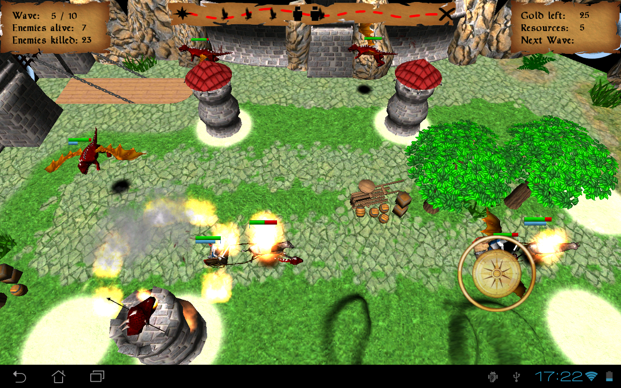 Castle Towers Clash 3D Game - screenshot