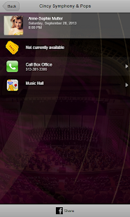 Cincinnati Symphony & Pops screenshot