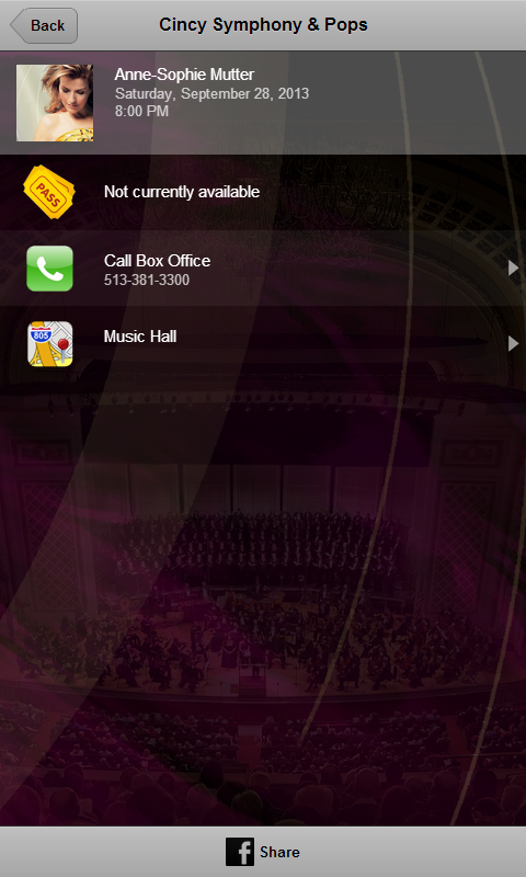Cincinnati Symphony & Pops- screenshot