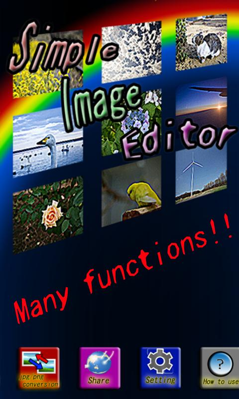 Simple Image Editor - screenshot