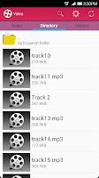 Screenshot of Video Player Lite