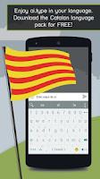Screenshot of ai.type Catalan Predictionary