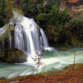 Croatia Waterworld by Ronald Susaya - Uncategorized All Uncategorized ( cascade, mysterious, waterfall, croatia, stunning )