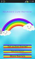 Screenshot of Keyboard Cute Rainbow