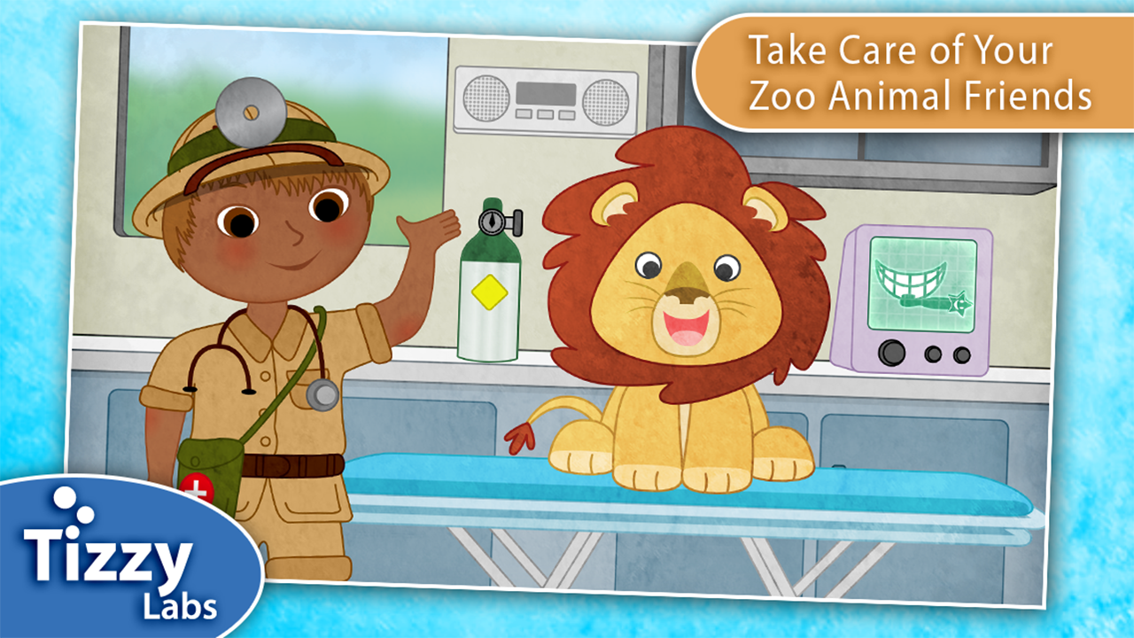 Tizzy Zoo Veterinarian- screenshot