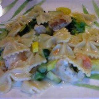 Pasta Chicken With White Sauce Recipes.