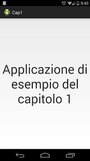 Android in sette giorni Cap 1