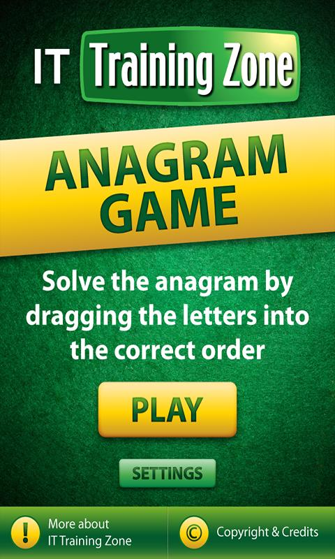 IT-Anagrams- screenshot