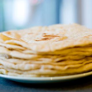 Homemade Flour Tortillas Without Lard