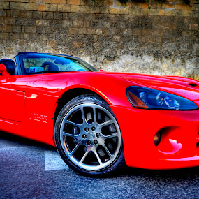 red car by Marco Aquilina - Transportation Automobiles (  )