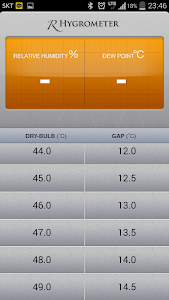 Relative Hygrometer screenshot 0