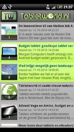 Tabletworld Reader Screenshot 1