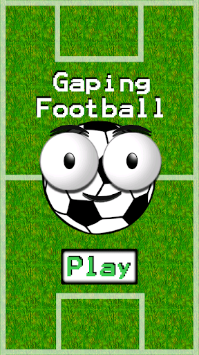 Gaping Football