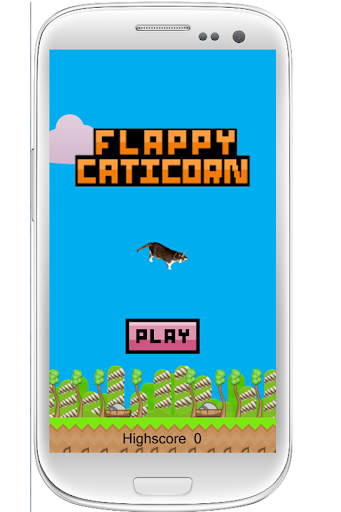 Flappy Caticorn Magic Creature