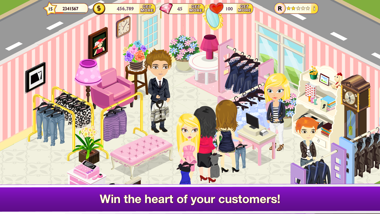 girls fashion games Tap Boutique Girl Fashion