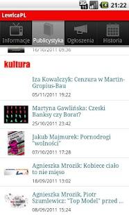LewicaPL- screenshot thumbnail