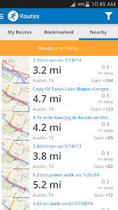 Run with Map My Run + v3.1.0