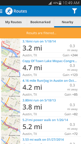 Run with Map My Run + v3.6.2 APK