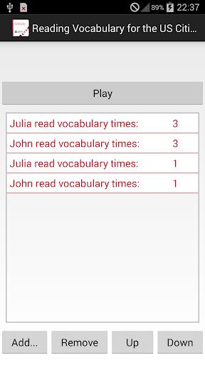 Reading Vocabulary - Free