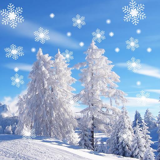 下雪動態壁紙 LOGO-APP點子