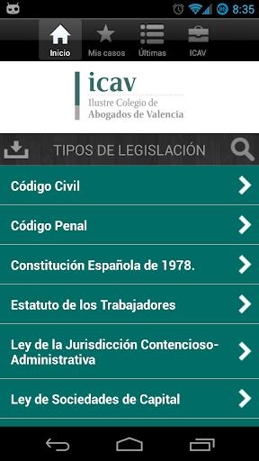 iCav: Leyes 2013