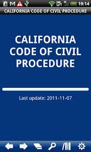 California Cod Civil Procedure