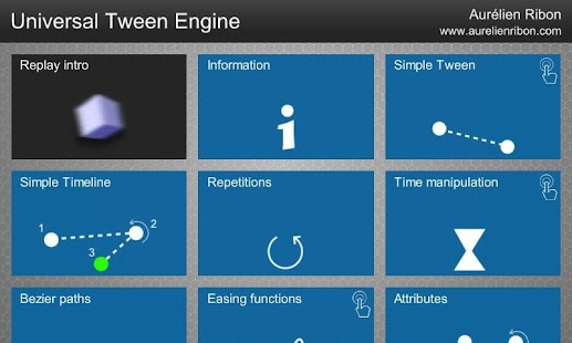 Universal Tween Engine- screenshot thumbnail