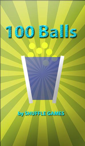 【免費解謎App】100 Balls-APP點子