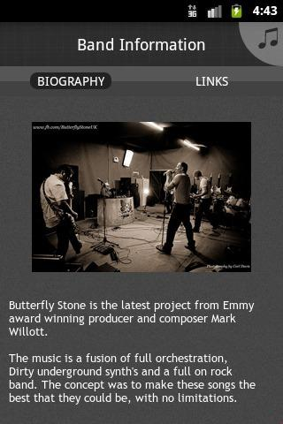 Butterfly Stone - screenshot