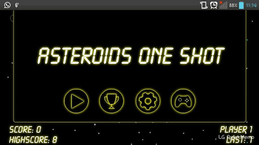 Asteroides One Shot