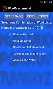 Word Mastermind- screenshot thumbnail