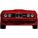 BMW E30 battery widget logo