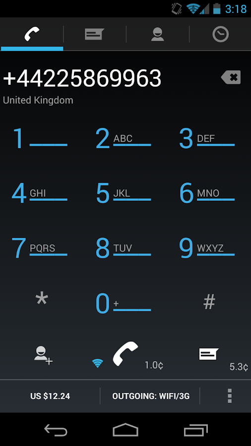 Free+Cheap International Calls - screenshot
