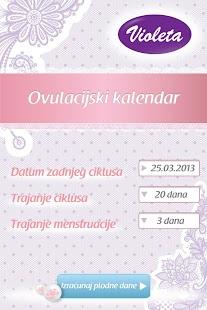 Ovulacijski kalendar