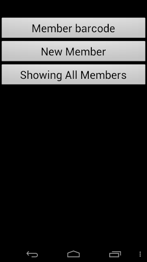 Member barcode manager system