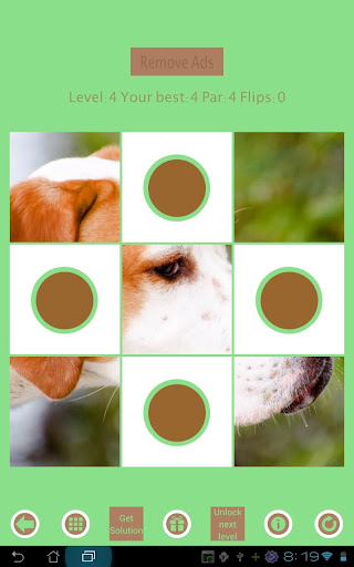 【免費解謎App】Flip Disc: Dogs Jigsaw Game-APP點子