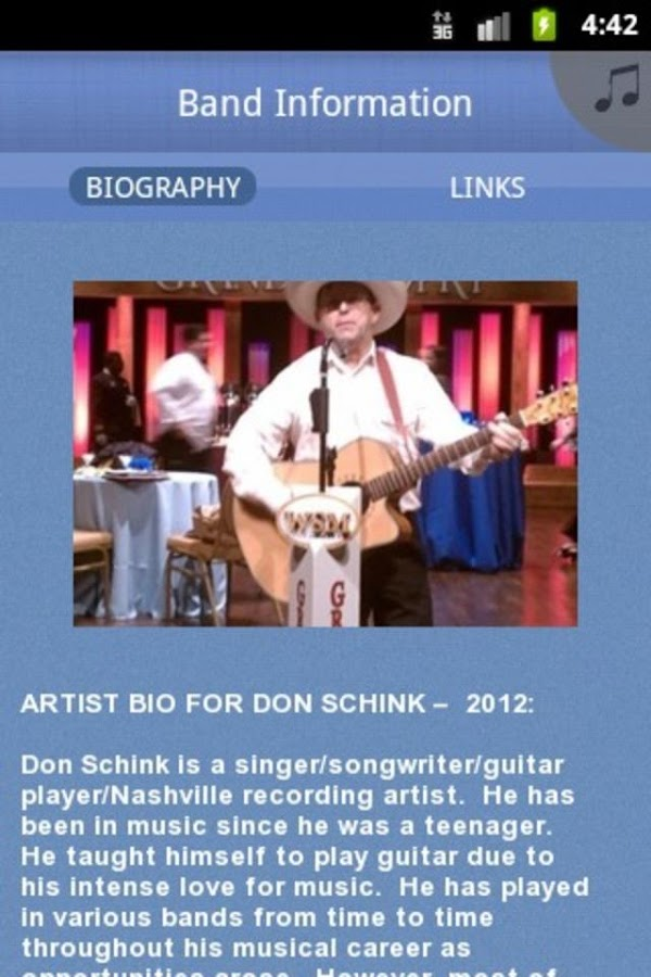 Don Schink with Clean Country - screenshot