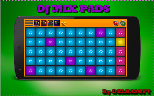 DJ MIXパッド