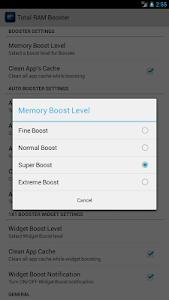 Total RAM Booster Free v2.0