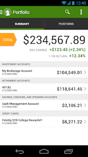 Fidelity Investments - screenshot thumbnail