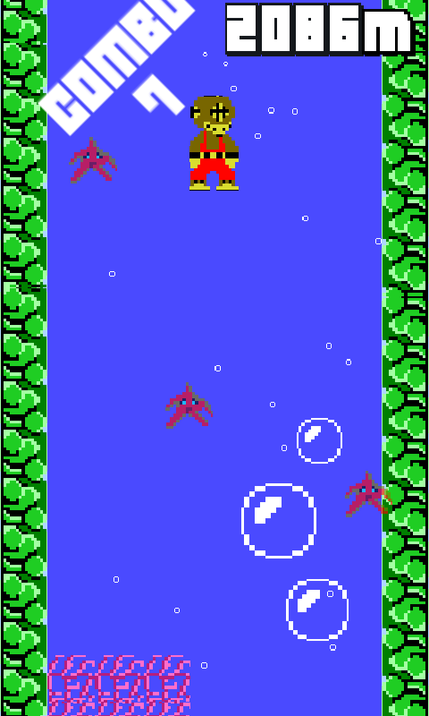 8-Bit Diver- screenshot