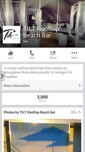 TILT Rooftop Beach Bar