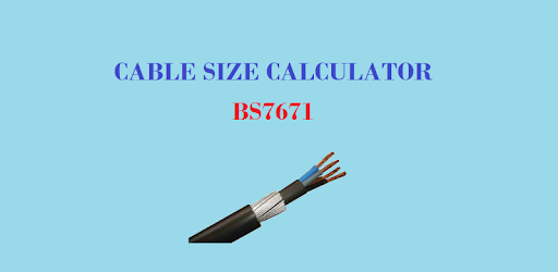 Cable size calculator bs 7671 apps on google play keyboard keysfo Images