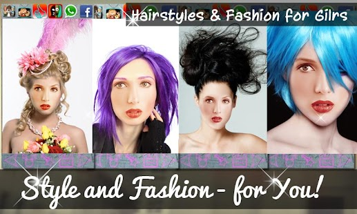 Hairstyles & Fashion for Girls- screenshot thumbnail