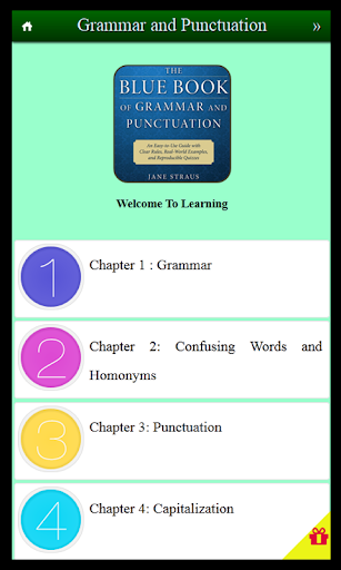 Learn Grammar And Punctuation