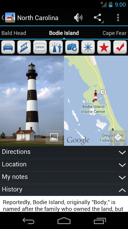 US Lighthouses- screenshot